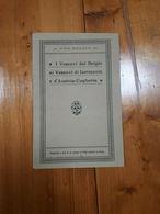 1916 - OPUSCOLO - I VESCOVI DEL BELGIO AI VESCOVI DI GERMANIA AUSTRIA UNGHERIA - Religion
