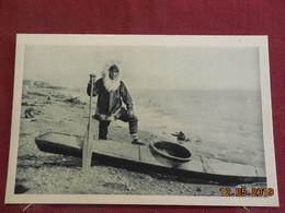 CPSM - Alaska - Kayak Pour La Chasse Au Phoque - Postcards