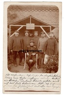 Militär Foto, Stempel Göritz Oder, Gesellschaftszimmer Landsturm Fussartillerie Bataillon 3. Armee Korps, Postkarte 1915 - Weltkrieg 1914-18