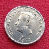 El Salvador 5 Centavos 1974 KM# 134 - El Salvador