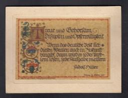 DR Hitler / Spruchkarte Coburg - Weltkrieg 1939-45