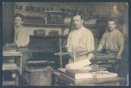 Militaria Militaires LYON Place Carnot Caserne Bissuel 1909 Carte Photo - Barracks