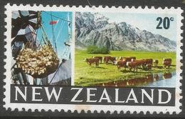 New Zealand. 1967-70 Definitives. 20c MH. SG 876 - New Zealand