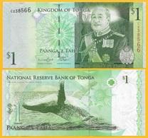 Tonga 1 Pa'anga P-37 2009 UNC - Tonga