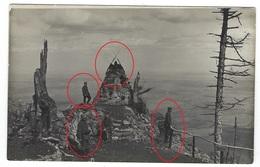 Vogesen - Vosges - Hartmannsweiler Vieil Armand Jägerdenkmal Soldaten Allemande Guerre 14-18 Carte Photo  WWI - Oorlog 1914-18