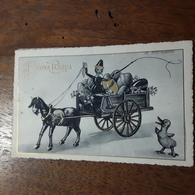 Cartolina Postale Illustrata 1940, Auguri Pasquali, - Ostern