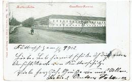 KUTTERSCHITZ - Chudeřice - Bilin - Bílina - Böhmen - Cavallerie-Kaserne - Gesendet 1902 - Sudeten