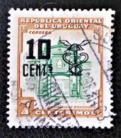 SURCHARGE 1959 - OBLITERE - YT 656 - MI 826 - Uruguay