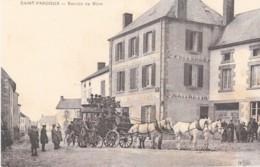 CPA 63 Puy De Dôme Saint Pardoux Service De Riom Courrier Diligence-  (lot Pat 72) - Autres Communes