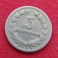 El Salvador 5 Centavos 1963 KM# 134 - El Salvador