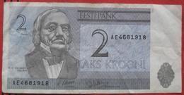 2 Krooni 1992 (WPM 70) - Estland