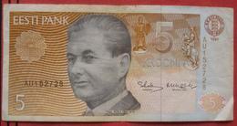 5 Krooni 1991 (WPM 71) - Estonia