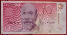 10 Krooni 1991 (WPM 72) - Estonia