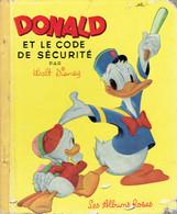 Donald Et Le Code De Sécurité Par Walt Disney (Les Albums Roses, 28 Pages, 1955) - Autres