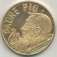 Padre Pio Da Pietralcina, Mistura Dorata Gr. 8, Cm. 2,8. - Italia
