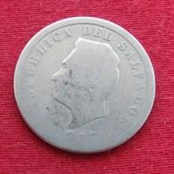 El Salvador 5 Centavos 1917 KM# 129 - El Salvador