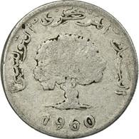 Monnaie, Tunisie, 5 Millim, 1960, Paris, TB, Aluminium, KM:282 - Tunisie