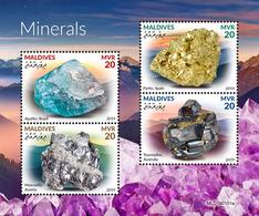 MALDIVES 2019 - Minerals. Official Issue [MLD190101a] - Mineralen
