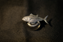 """Pin's-"""" Pesce Tonno"""" La Foto Non Rende La Vera Bellezza Dello Stemma Distintivo-Integro E Completo- - Badges"""