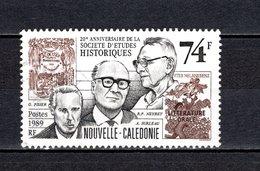 NOUVELLE CALEDONIE  N° 583  OBLITERE  COTE 1.10€   ETUDES HISTORIQUES - Nueva Caledonia
