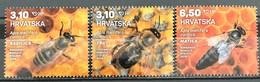 Croatia, 2019, Croatian Fauna - Honey Bee (MNH) - Croacia