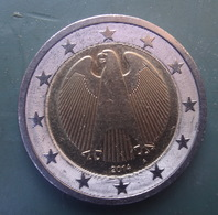 GERMANY -  A - COIN. 2 Euro. 2014 CIRCULATED  COIN - Duitsland