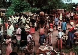CPM - NIGERIA - Le Marché Du Village - Nigeria