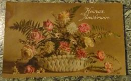 Cpa  Heureux Anniversaire - Jardinière De Fleurs  - St Jean De Bueges 1918 - Anniversaire