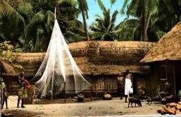 CPSM - DAHOMEY - Village ZOUNGBODJI - Dahomey