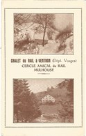 88- 68 - Ventron - Chalet Du Rail - Cercle Amical Du Rail Mulhouse - Andere Gemeenten