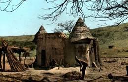 CPSM - DAHOMEY - Château SAMBA - NATITINGOU - Dahomey