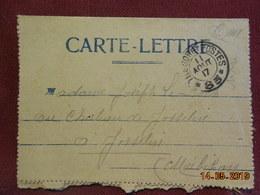 Carte Lettre De 1917 à Destination De Josselin En F.M - Postmark Collection (Covers)