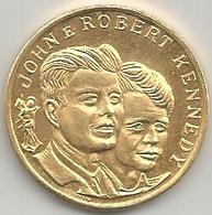 Stati Uniti, John E Robert Kennedy, Mistura Dorata Gr. 8, Cm. 2,8. - Stati Uniti
