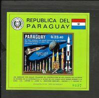 PARAGUAY SPACE KOSMOS MICHEL BL. 145 SPECIMEN MNH - Paraguay