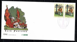 Ireland 1995 FDC Scott 967, SG 953, Yv 900, Mi 897;   Battle Of Fontenoy (2 Scans) - FDC