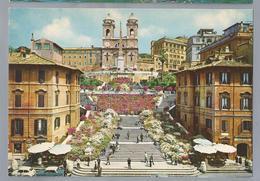 IT. ROMA. ROME. Piazza Di Spagna. Trinità Dei Monti. Plac D'Espagne Et Trinità Dei Monti. Spain's Square And The Trinità - Roma (Rome)