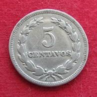 El Salvador 5 Centavos 1956 KM# 134 - El Salvador