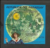 PARAGUAY COPERNIC MICHEL BL. 203 SPECIMEN M,NH - Paraguay