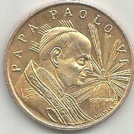 Vaticano, Papa Paolo VI, Mistura Dorata Gr. 8, Cm. 2,8. - Gettoni E Medaglie