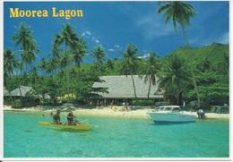 CPM  Polynésie Française     Moorea Lagon - Polinesia Francese