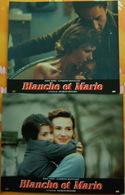 Lot 3 Photos BLANCHE Et MARIE De Jacques RENARD Avec MIOU MIOU Et Sandrine BONNAIRE - Photos