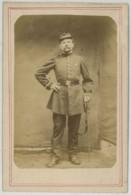 Cabinet Militaire Campagne D'Italie Par Jean Gualino , Photographe De Turin . Infanterie . - Oud (voor 1900)