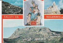 POSTAL B8863: ROCCAFIORITA: MESSINA - Postales