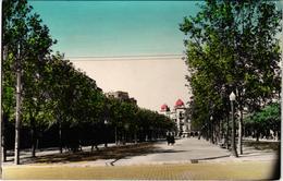ESPAGNE - REUS - L'avenue Des Martyrs - Rare - Belle Carte écrite Au Verso - Vari