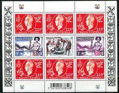 Wallis, N° 828 à N° 831** Y Et T En Mini - Feuille F828 - Wallis-Et-Futuna