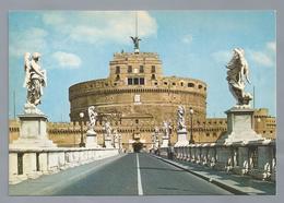 IT. ROMA. ROME. Ponte E Castel S. Angelo. Pont Et Chateau Saint Ange. Sant 'Angelo Bridge And Castle. Brucke Und E...... - Roma (Rome)