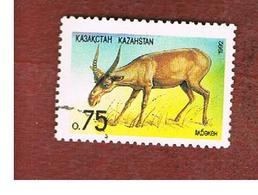KAZAKISTAN (KAZAKHSTAN)   -  SG 9 -   1992  ANIMALS: SAIGA ANTELOPE   -   USED - Kazakistan