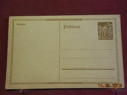 Entier Postal D'Allemagne - Deutschland