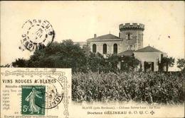 FRANCE - Carte Postale - Blaye - Château Sainte Luce - La Tour - Docteur Gelineau - L 29614 - Blaye