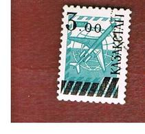 KAZAKISTAN (KAZAKHSTAN)   -  SG 13 -   1992 STAMPS OF URSS OVERPRINTED  -   USED - Kazakistan